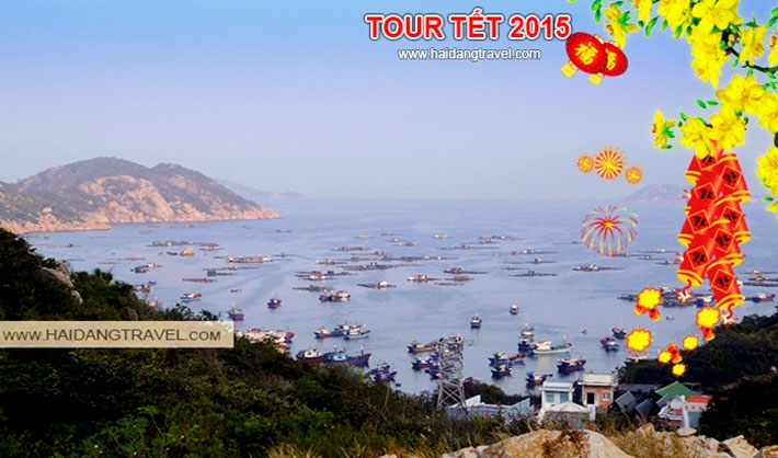 Tour Tết Ất Mùi - Nha Trang 3N3Đ Khách Sạn 4 Sao
