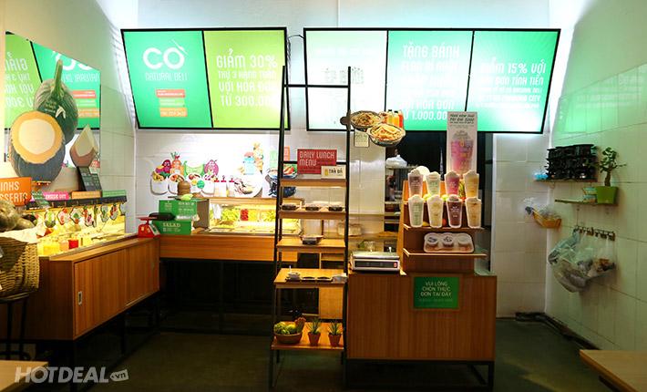 Combo 2 Quả Bánh Flan Bí Đỏ Tại Nhà Hàng Cò Natural Deli