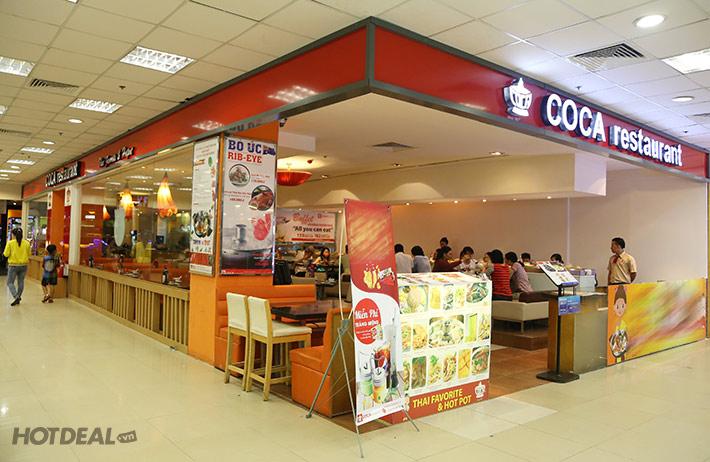Buffet Lẩu Băng Chuyền Thái Lan 45 Món - NH Coca Suki (Miễn Phí Pepsi tươi)