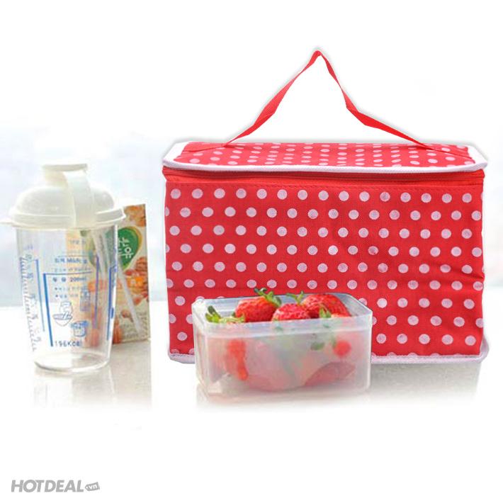 túi giữ nhiệt đa năng giá rẻ hộp đựng thức ăn ikea hộp đựng cơm
