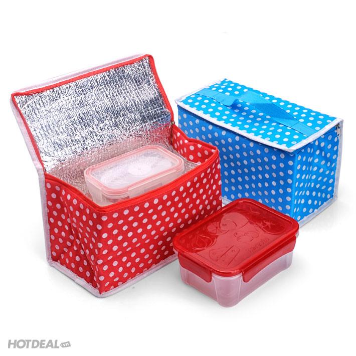 túi giữ nhiệt đa năng giá rẻ 1 hộp đựng thức ăn ikea hộp đựng cơm