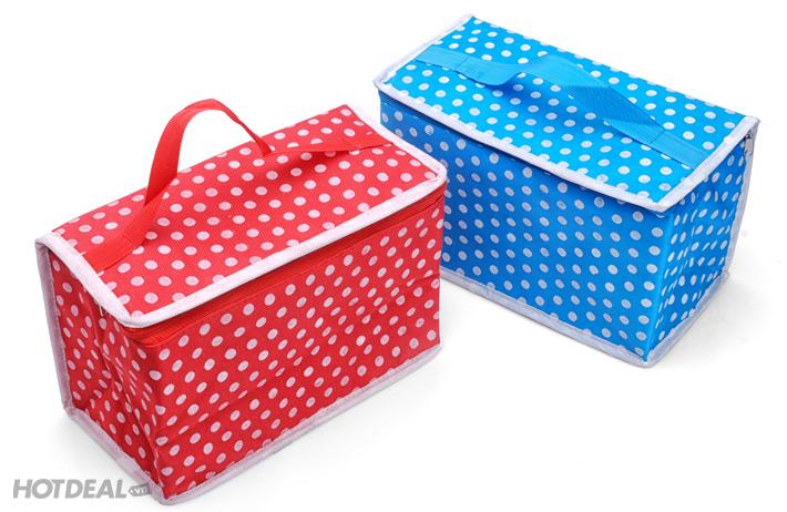 túi giữ nhiệt đa năng giá rẻ 2 hộp đựng thức ăn ikea hộp đựng cơm