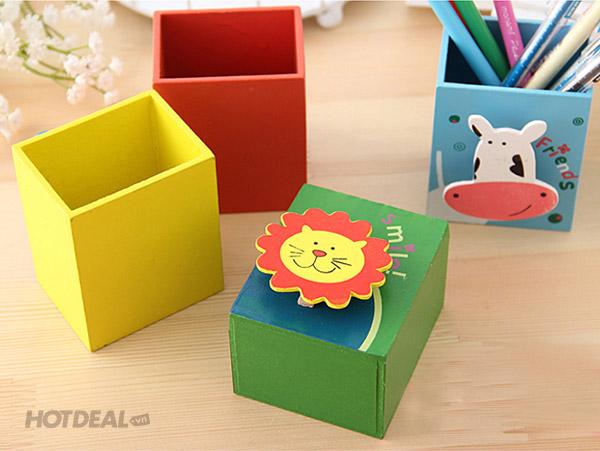 hộp gỗ trang trí hộp đựng đồ xinh xắn 5
