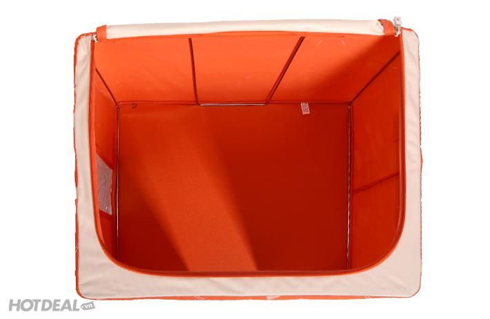 hộp đựng đồ livingbox hộp đựng đồ giá rẻ 1 hộp vải khung sắt
