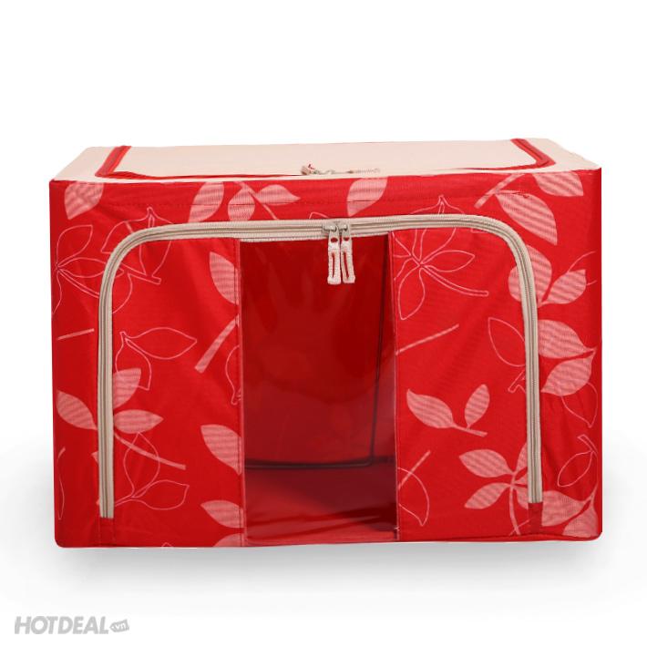 hộp đựng đồ livingbox 3 hộp đựng đồ giá rẻ hộp vải khung sắt