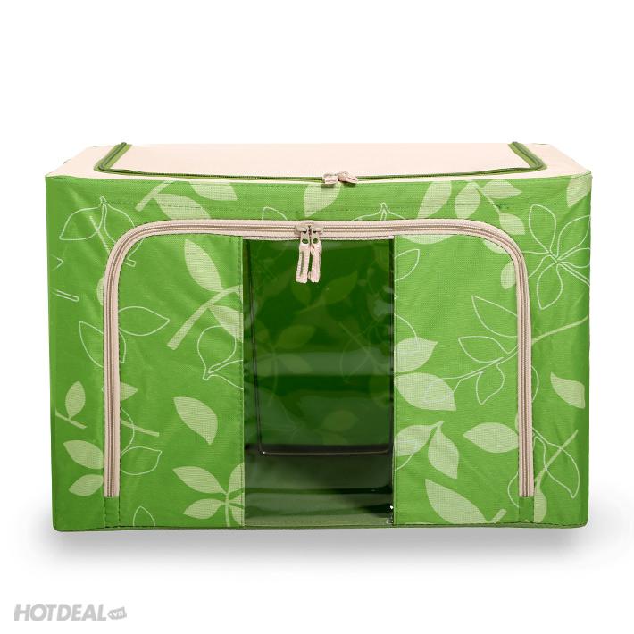 hộp đựng đồ livingbox 4 hộp đựng đồ giá rẻ hộp vải khung sắt