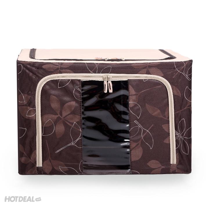 hộp đựng đồ livingbox 5 hộp đựng đồ giá rẻ hộp vải khung sắt