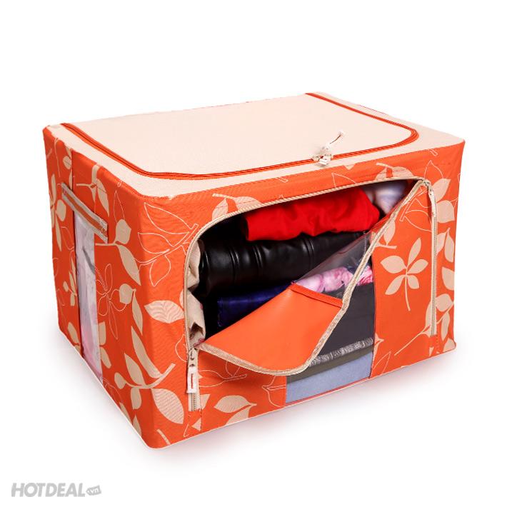 hộp đựng đồ livingbox 6 hộp đựng đồ giá rẻ hộp vải khung sắt