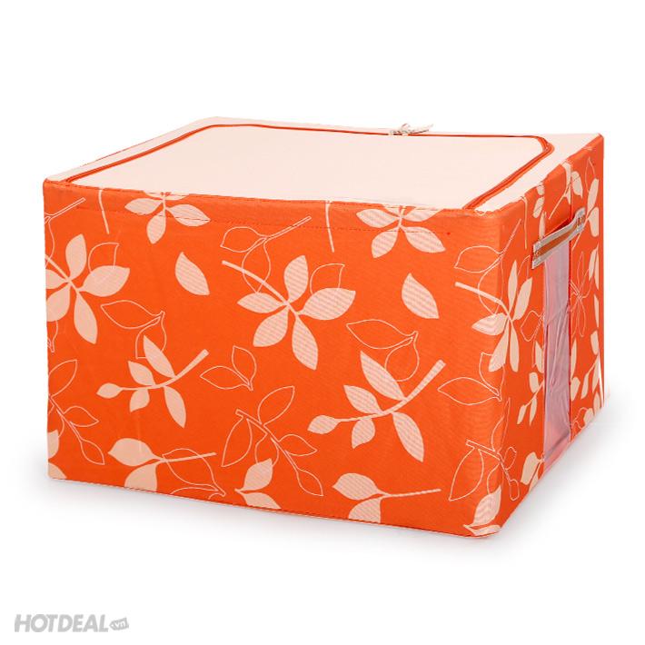 hộp đựng đồ livingbox 7 hộp đựng đồ giá rẻ hộp vải khung sắt