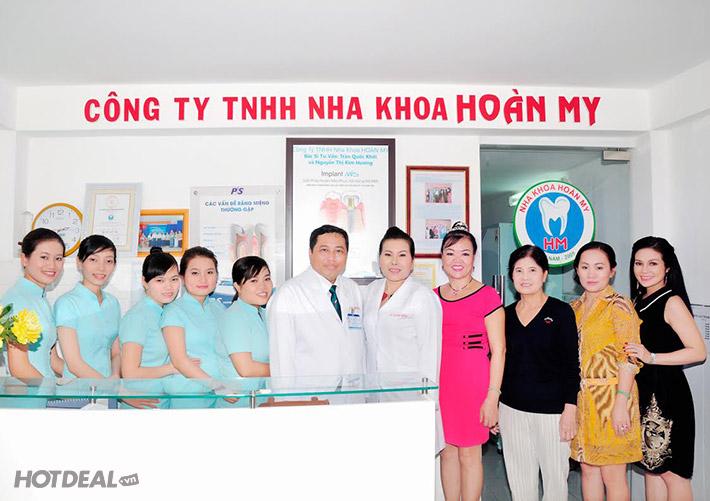 Trồng Răng Sứ Zirconia Tại HT Nha Khoa Hoàn My – BH 7 Năm
