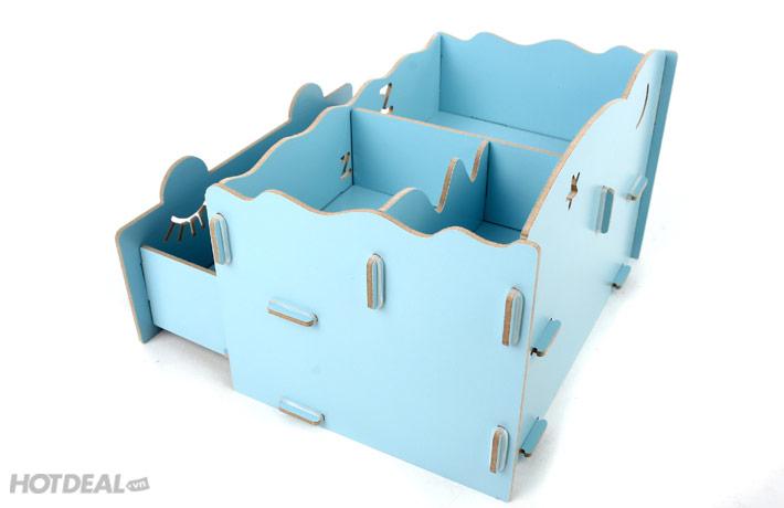bán hộp gỗ đựng đồ trang điểm