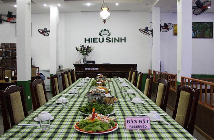 Buffet Chay Tại Nhà Hàng Chay Hiếu Sinh - Tây Hồ