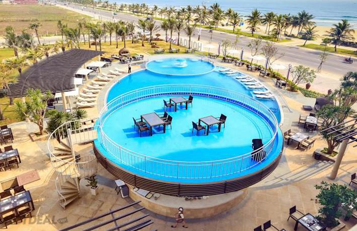 Nghỉ Dưỡng 4N3Đ + Phiếu Ăn Uống Mỗi Ngày Trị Giá 1.050.000 Tại Holiday Beach Hotel & Spa 4*