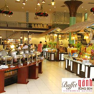 Buffet Gánh Buổi Trưa Hơn 60 Món Tại Nhà Hàng Lion