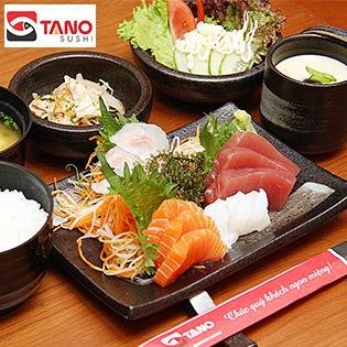 Set Món Nhật Tự Chọn Tại Chi Nhánh 3 Hệ Thống Tano Sushi