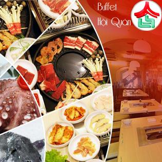Buffet  Lẩu Nướng Tại NH Hội Quán - Time City