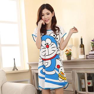 Đầm Ngủ Doraemon
