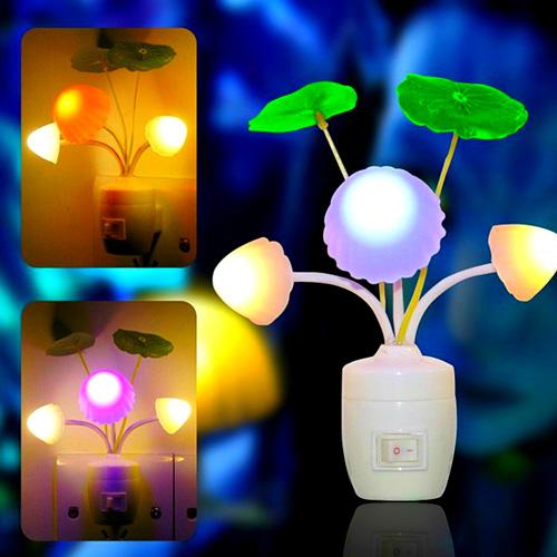 Đèn Ngủ Avatar Hình Nấm Đổi Màu
