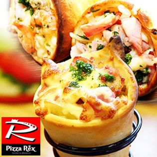 Combo 2 Bánh Pizza Ốc Quế Độc Đáo, Mới Lạ Tại Pizza Rex
