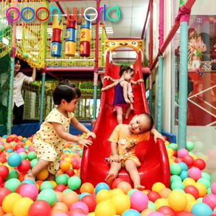 Cho Bé Yêu Vui Chơi Thỏa Thích Tại Pooh World tại Hà Nội
