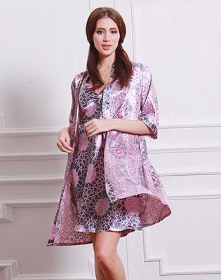 Đầm Ngủ Phi Lụa Kèm Áo Choàng tại Hồ Chí Minh