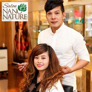 Uốn/Duỗi/Nhuộm/Bấm Xù Tại Hair Salon Nano Nature Đẳng Cấp 5*