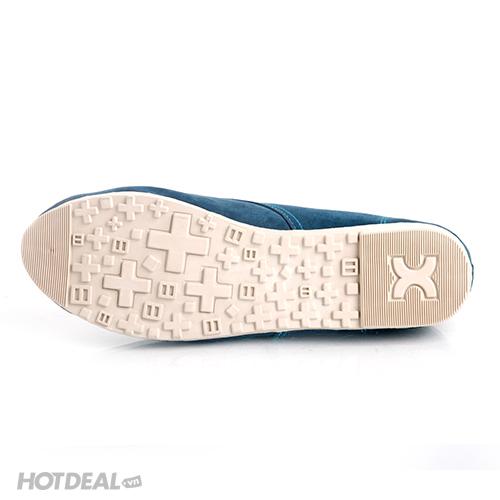 Giày Nữ Khải Nam Màu Xanh Cổ Vịt