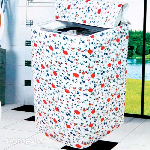 Áo Trùm Máy Giặt Tiện Dụng Cửa Trên
