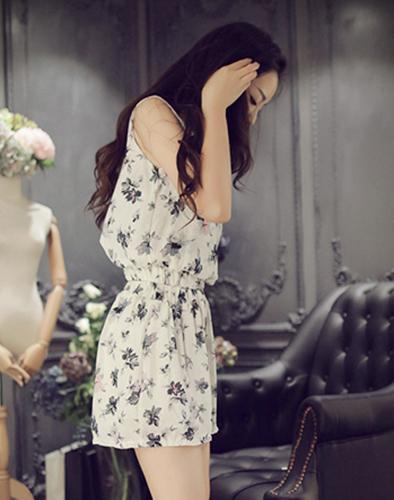 Bộ Đồ Voan Hoa Zara