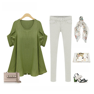 Áo Kiểu OversizeThời Trang