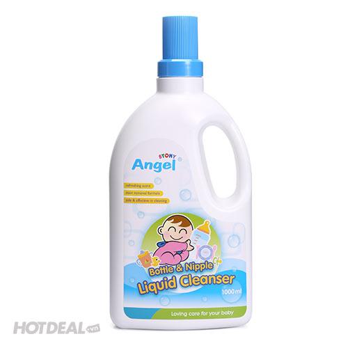Dung Dịch Rửa Bình Và Núm Vú Angel Stony