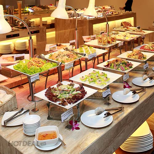 Buffet Tối Thứ 2-6 - KS Liberty Central Saigon Riverside 4 Sao