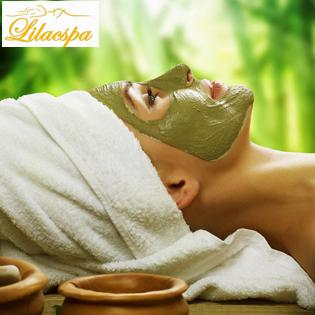 Massage Oxy Tươi Mặt Nạ Trà Xanh Nguyên Chất Trắng Da Tại LILAC SPA