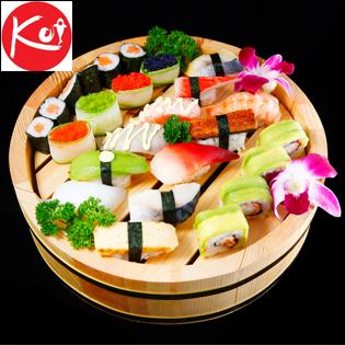 Buffet Nhật Cao Cấp Tại NH Nhật Bản Sushi KOI