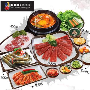 Set Nướng Tại Bàn - NH King BBQ Union Square, Quận 1 tại Hồ Chí Minh
