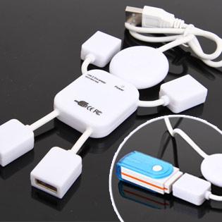 Hub USB Robot 4 Cổng + Đầu Đọc Thẻ Đa Năng tại Hồ Chí Minh