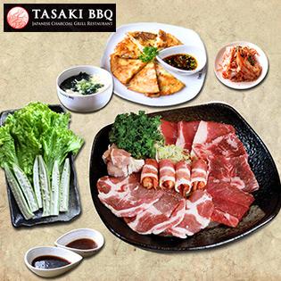 Set Nướng 2-3 Người Tại Nhà Hàng Nhật Tasaki BBQ