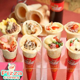 Tưng Bừng Khuyến Mãi Hệ Thống Pizza Cones Việt Nam