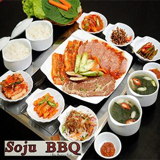 Set Menu Nướng Hàn Quốc - 1 Trong 5 Set Tự Chọn Tại Soju BBQ
