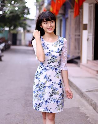 Váy Suông Công Sở Eurostyle