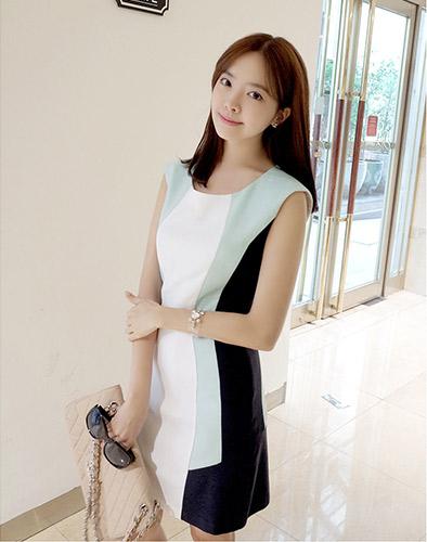Đầm Linen Công Sở Hàn Quốc