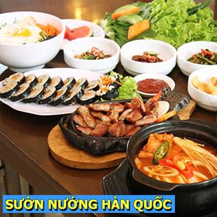 1 Trong 2 Set Ăn Tại Nhà Hàng Sườn Nướng Hàn Quốc