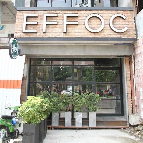 Effoc Coffee – Hệ Thống Take Away Đầu Tiên Tại Saigon