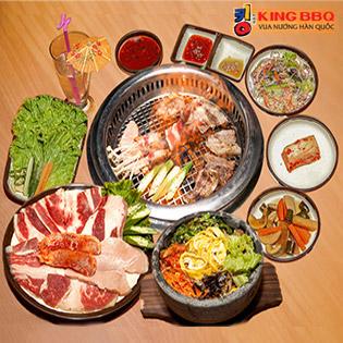 Sét Nướng Tại Bàn NH King BBQ - Thứ 2 Đến Chủ Nhật