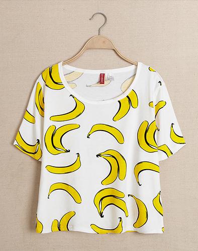 Áo Crop Top Banana ST 622