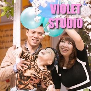 Chụp Ảnh Gia Đình Tại Violett Studio - Không Giới Hạn Số Người