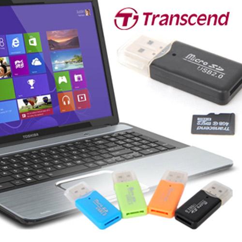 Transcend Thẻ Nhớ 4G Tặng Kèm Đầu Đọc Thẻ - BH 6 Tháng