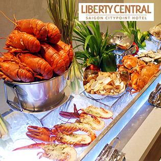 Buffet Tối Cuối Tuần Hải Sản Cao Cấp Tôm Hùm -Liberty Citypoint 4* tại Hồ Chí Minh