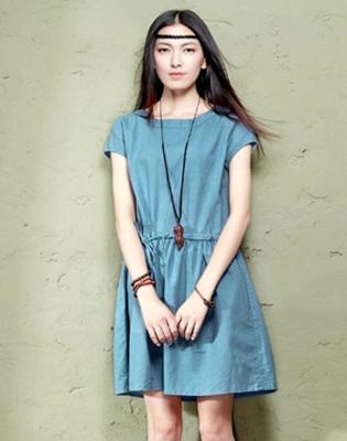 Đầm Linen Vintage Thắt Eo Cách Điệu tại Hồ Chí Minh