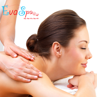 Massage Body Thư Giãn + Xông Hơi Tại Eva Spa